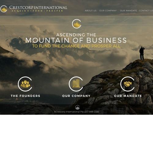 Crestcorp website
