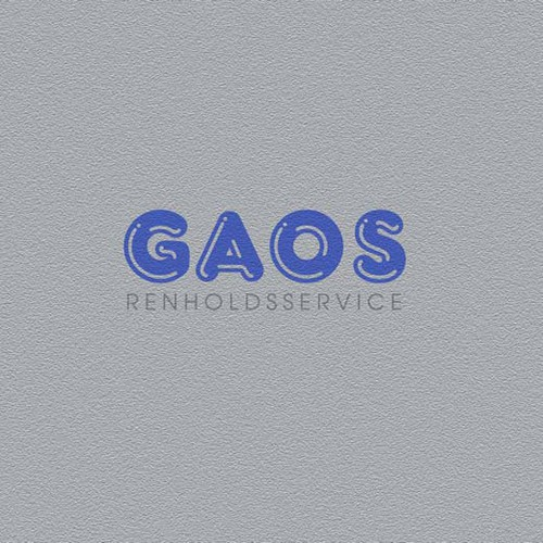 Logo design for GAOS Renholdsservice - GUARANTEED - $50 addon