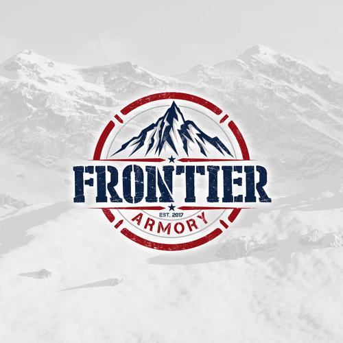 Logo design for Frontier Armory