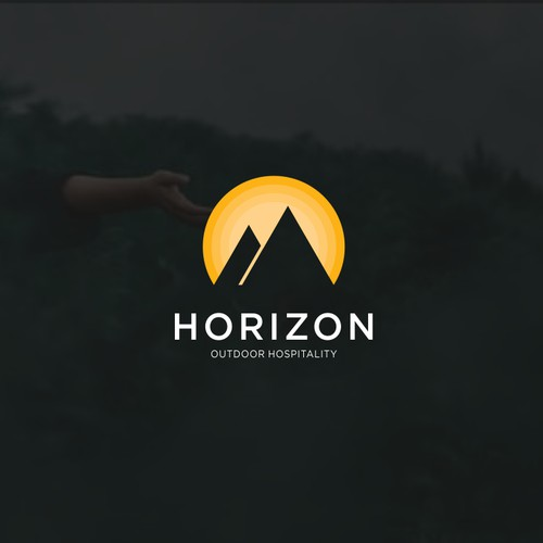logo concept for mountain