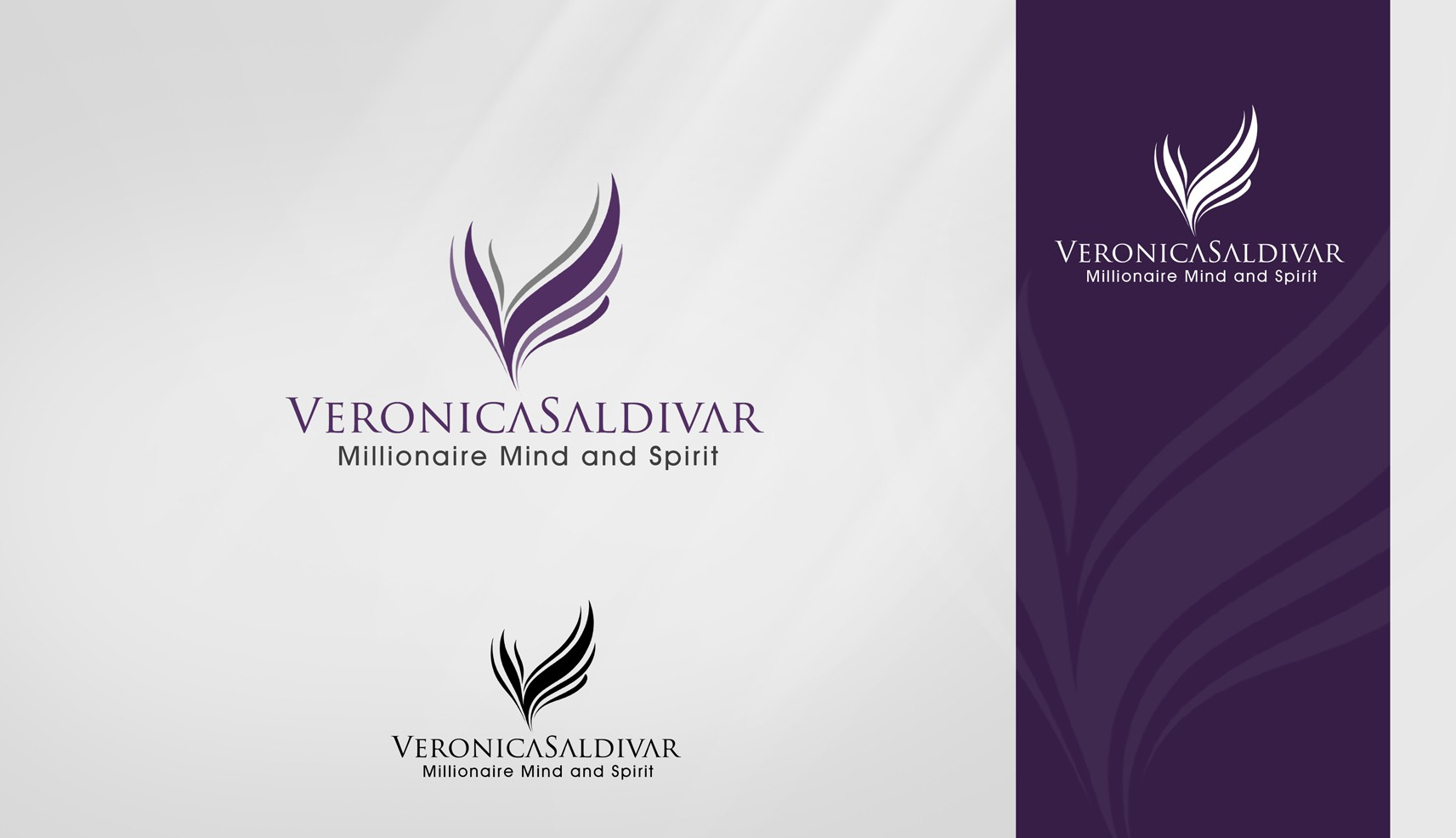 "Create the next logo for Veronica  ""V"" (Intial)"