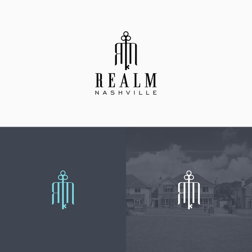 logo for boutique real estate team in Nashville