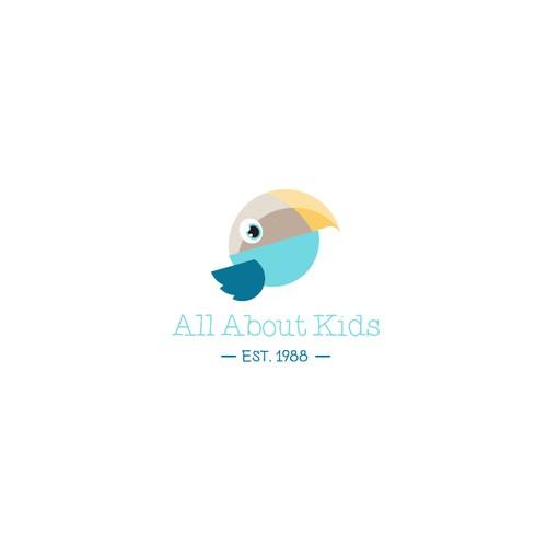 Logo for a pediatric therapy company