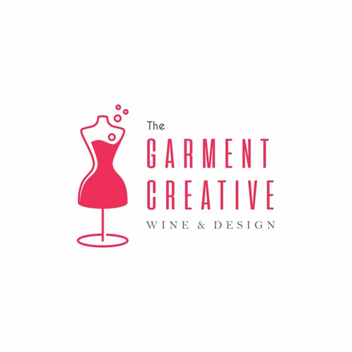 Logo design for female fashion design group