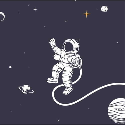 Space illustration concept for KORMOON