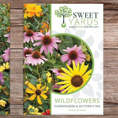 """Sweet Yards"" Seed Sachets / Packets"