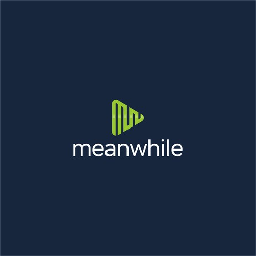 Letter MW Play Button Logo