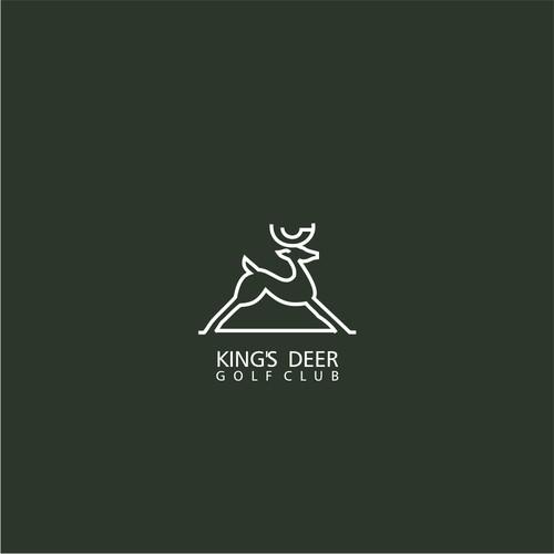 King's Deer Golf Club Logo Re-design