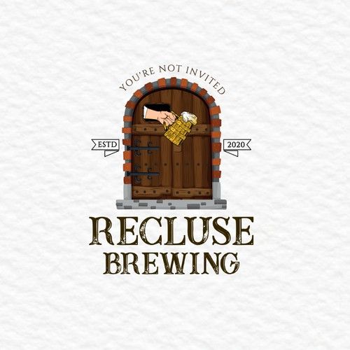 Logo for brewing company