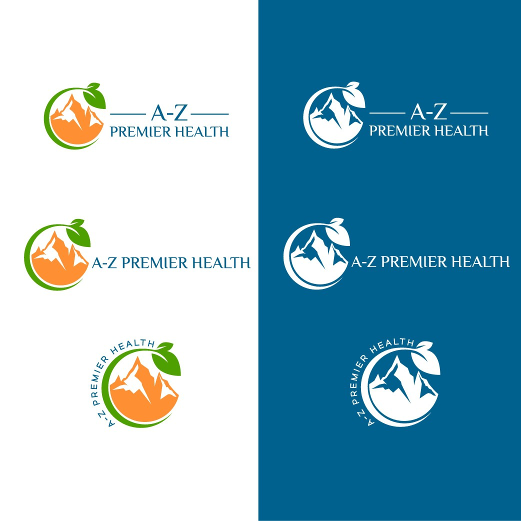 Luxurious and clean medical logo for new premier health practice!
