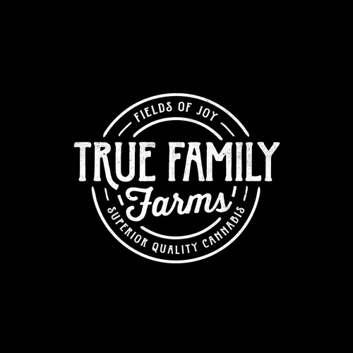 Logo design for True Family Farms