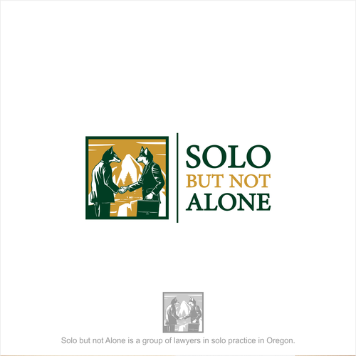 Logo for Solo but not Alone