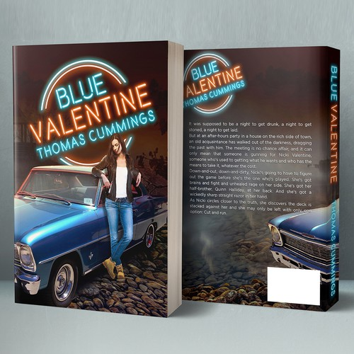 BLUE VALENTINE paperback for Thomas Cummings