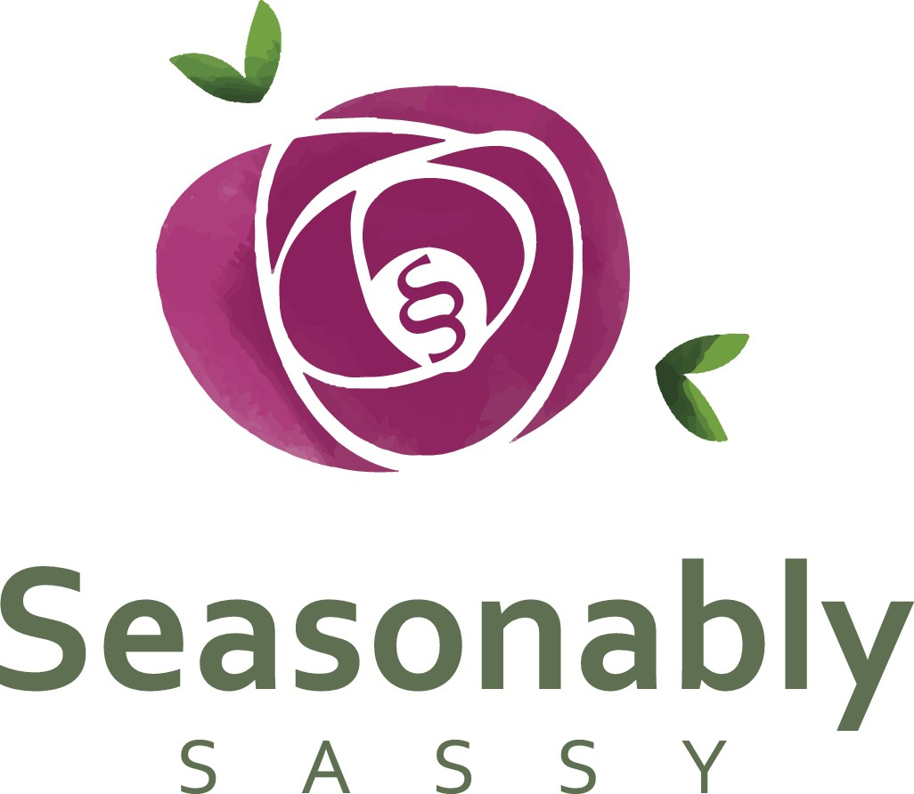 Seasonably Sassy Logo Design for Women's Lifestyle Brand