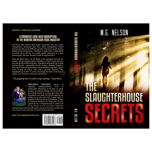 "Book cover for ""The Slaughterhouse Secrets"""