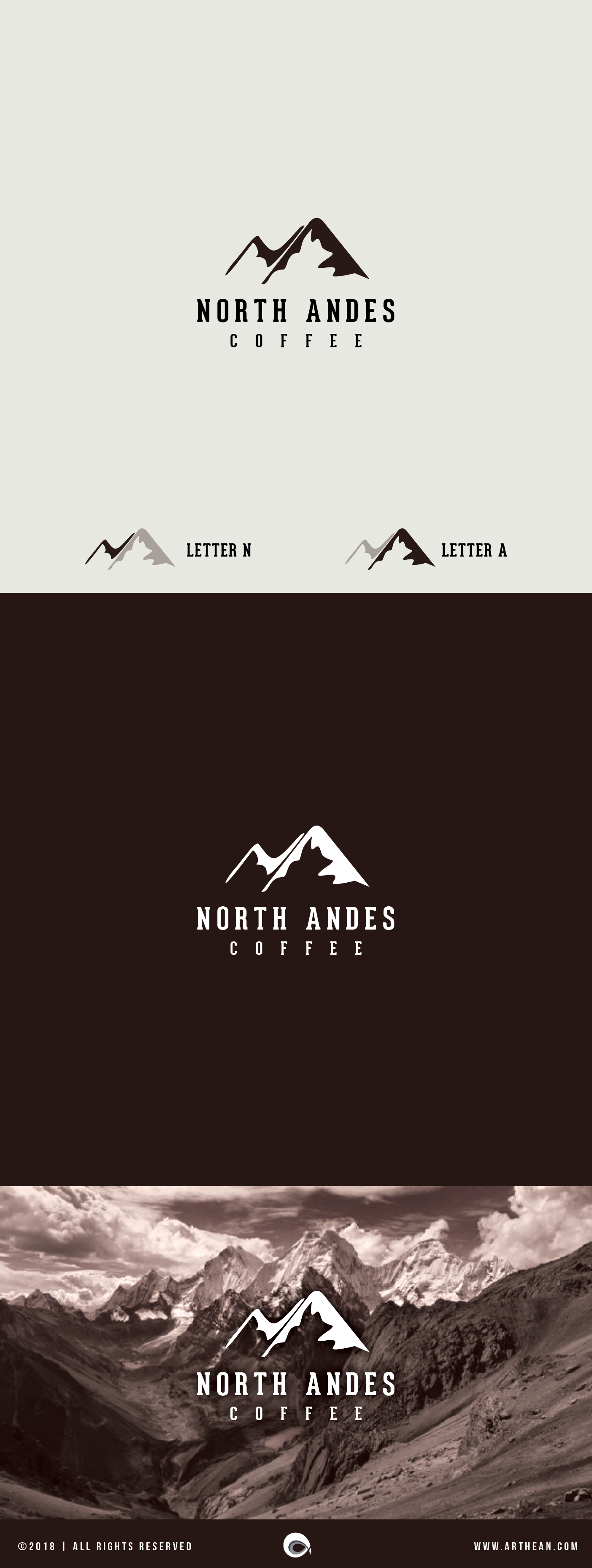 Logo design for a North Andes coffee