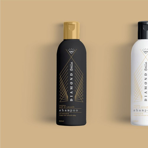 Shampoo package design