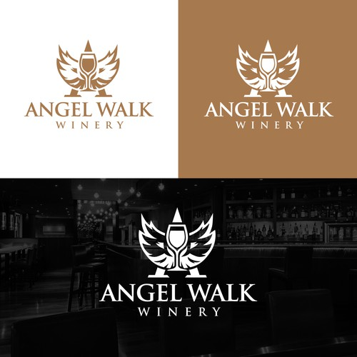 Angel Walk Winery logo