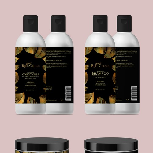 Cosmetics Packaging Design for Bijis Crown