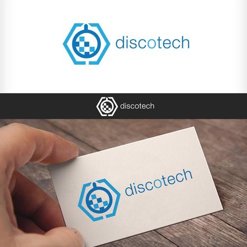 Discotech logo concept