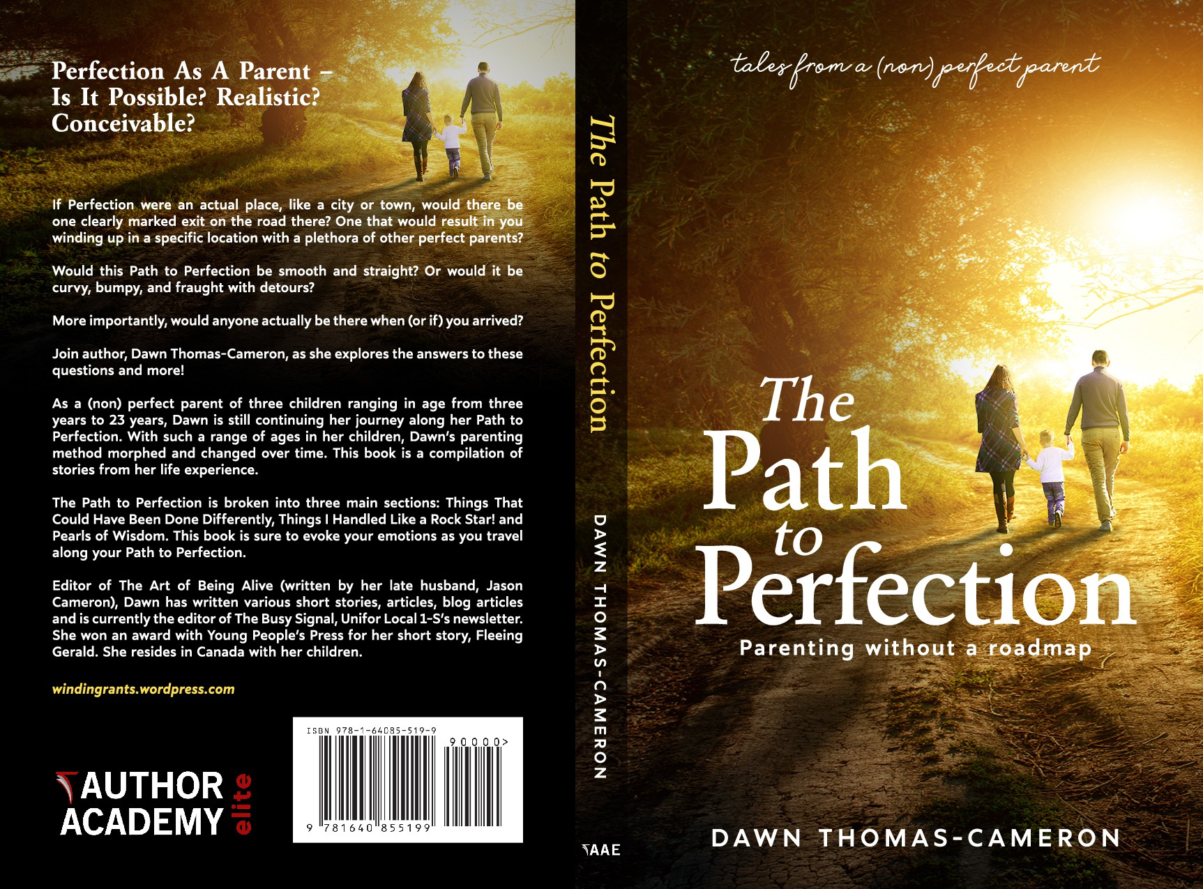 Create a non-fiction book cover with the potential for follow-up paid projects