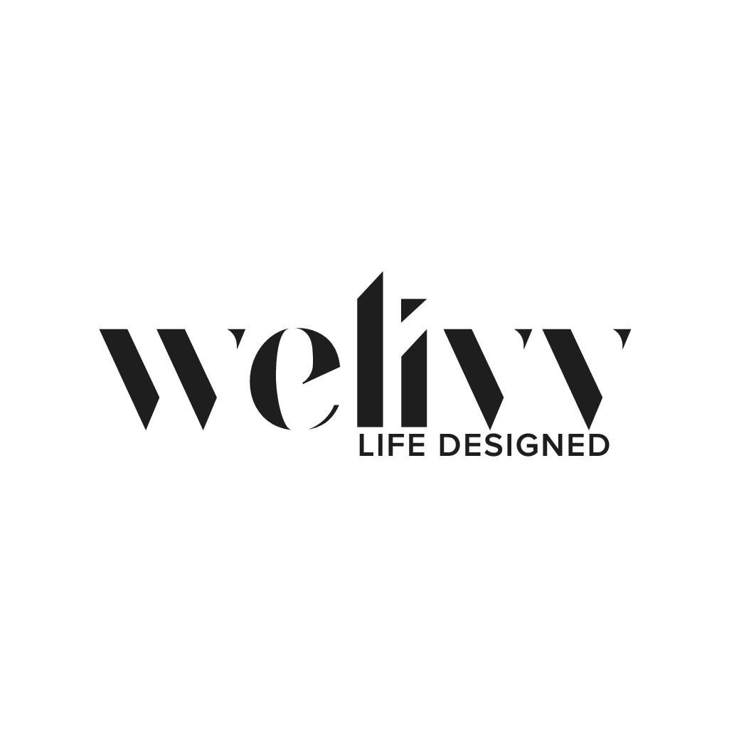 Text Based Logo for WeLivv