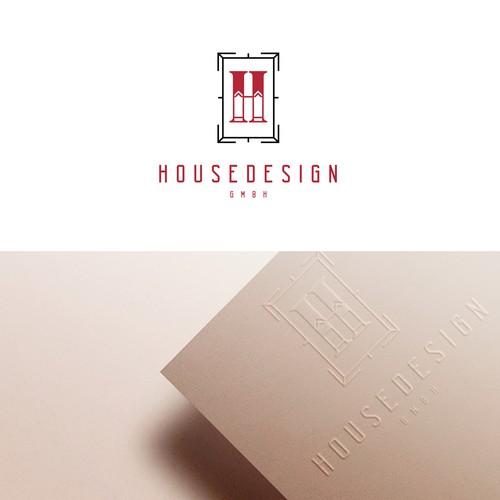 Home design studio logo