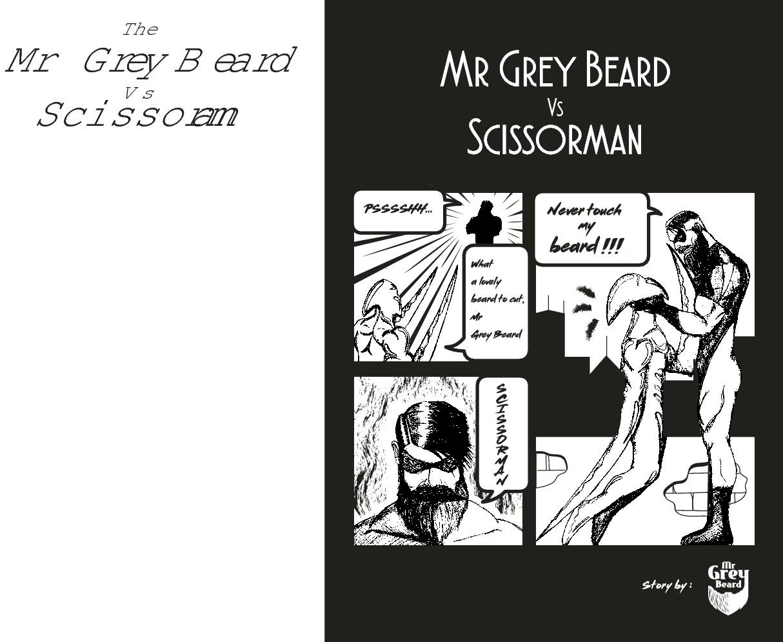 MR Grey Beard Comic (PIRATES OR SUPERHERO).
