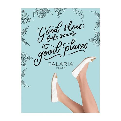 Talaria Flats - Packaging Design
