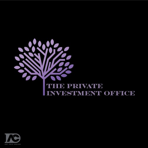 Investment company logo design