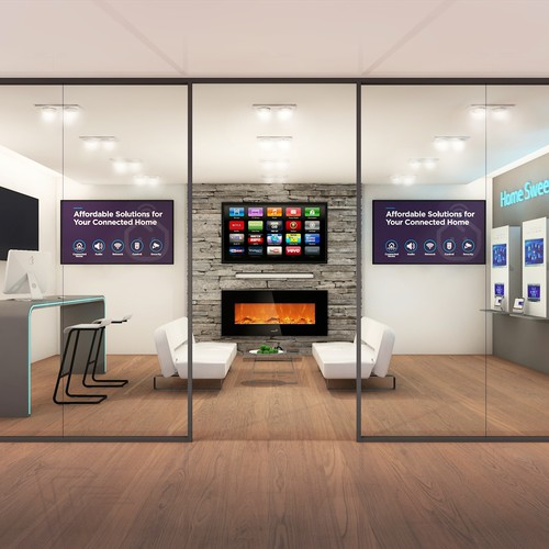 Interior design - Connected Home Showroom