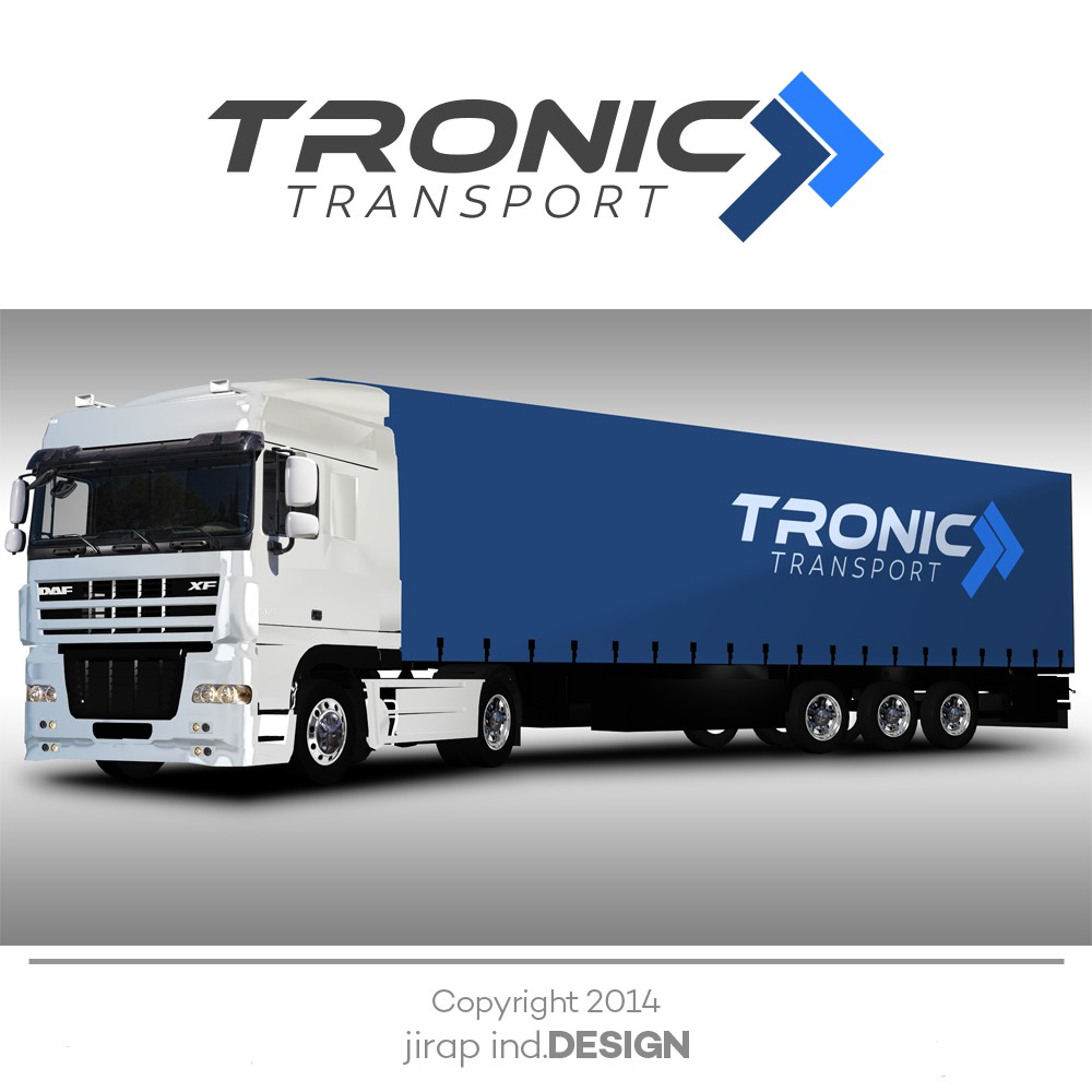Create a simple but eye catching logo for Tronic Transport
