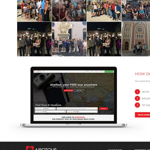 Redesign the homepage