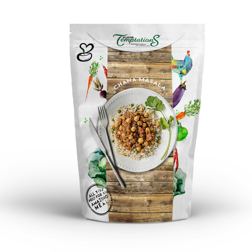 Chana Marsala packaging Design