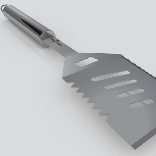 Create a 3D Rendering of my BBQ Tool Set