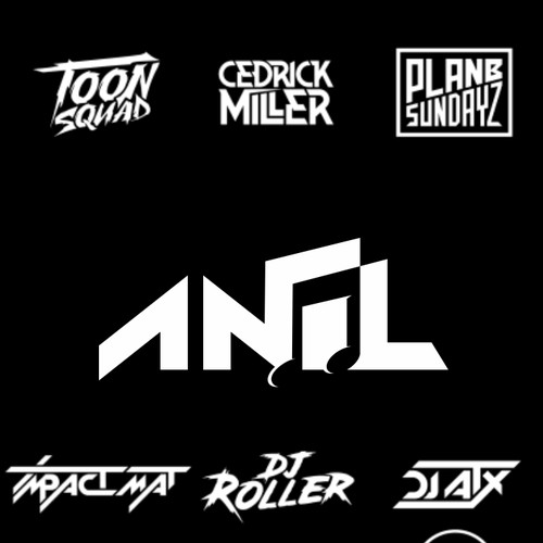 anil DJ artist,Music producer logo