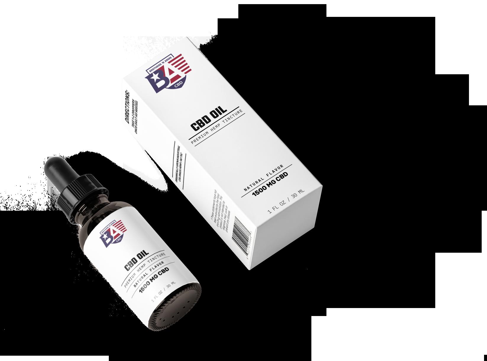 Complete Packaging design for BnA CBD