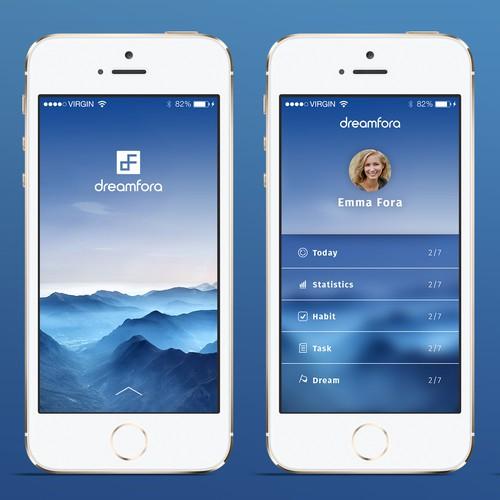 App design for dreamfora