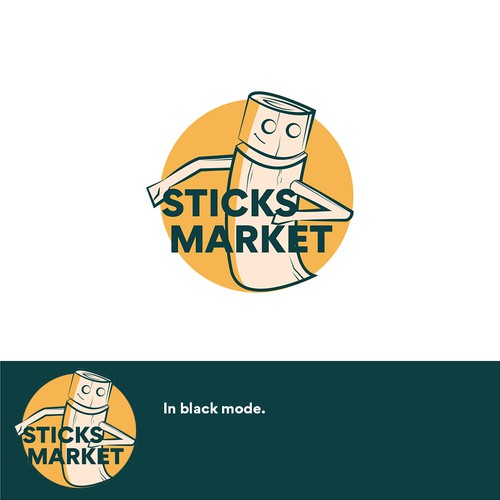 Classic  Wooden for Market Logos