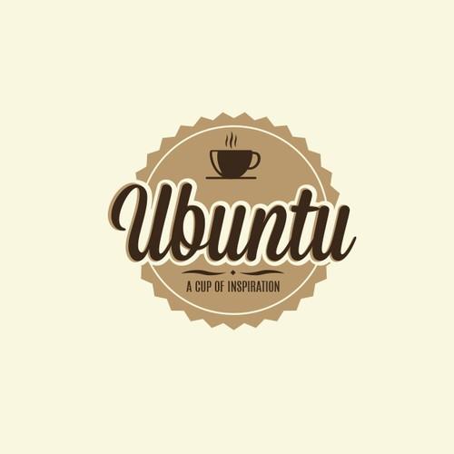 Coffee Ubuntu logotype design