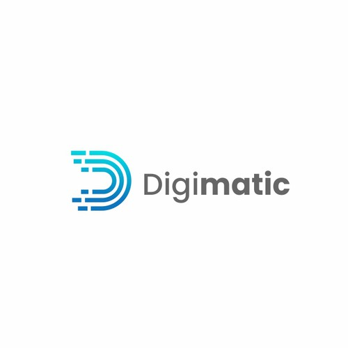 Clean logo concept for DigiMatic