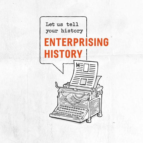 Logo for storytellers