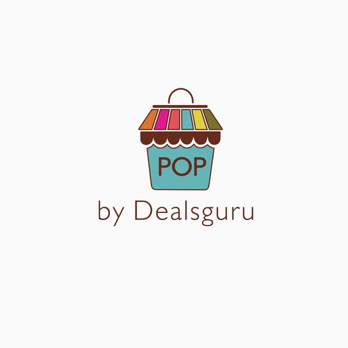 Pop deals guru design logo