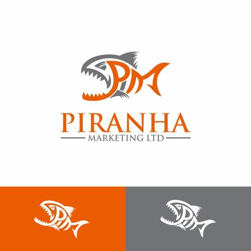 logo PM piranha