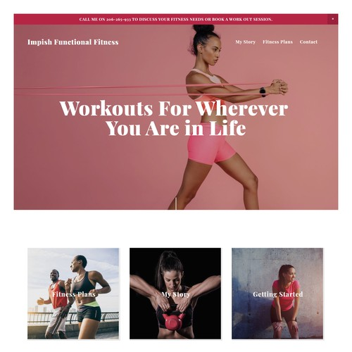 Website Design For Impish Functional Fitness