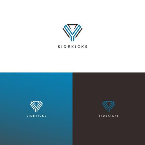 logo concept for digital super powers