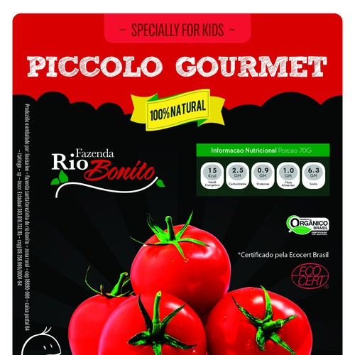 Sweet Organic Tomatoes in Pouches for KIDS!!!