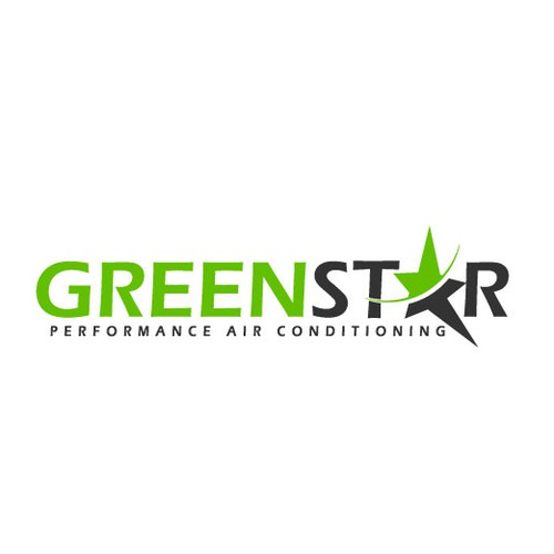 Create the next logo for Green Star Performance Air Conditioning