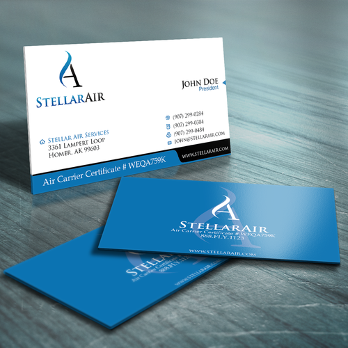 stationery for Stellar Air