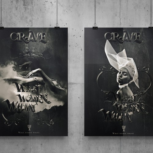 Two posters for the theater
